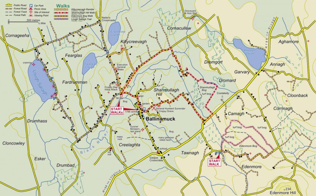 ballinamuck walks map